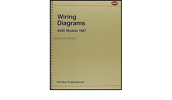 1987 4000 and audi coupe gt wiring diagram manual original audi1987 4000 and audi coupe gt wiring diagram manual original audi amazon com books