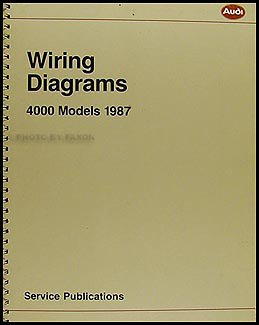 1987 4000 and audi coupe gt wiring diagram manual original rh amazon com audi coupe gt wiring diagram 98 Audi A4 Fuse Diagram