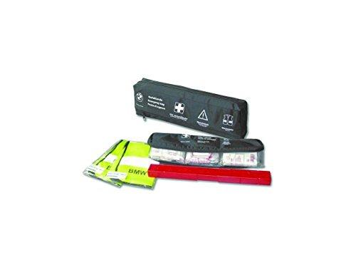BMW Genuine Emergency First Aid Travel Kit+Storage Pouch Bag 82262210667