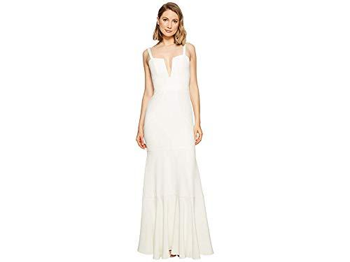 Nicole Miller Women's Elalia Bridal Gown Ivory Dress
