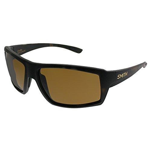 Sunglasses Smith Challis 0SST Matte Tortoise/L5 brown cp pz lens by Smith