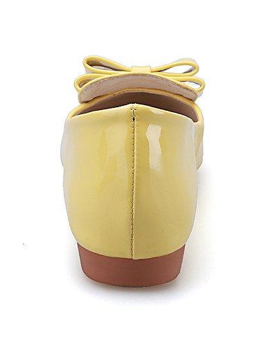de Toe 7 talón PDX zapatos 5 eu37 red señaló 5 cn37 rojo 5 amarillo Flats casual plano vestido y Ballerina fiesta gris de mujer us6 tarde uk4 I1I8qwE