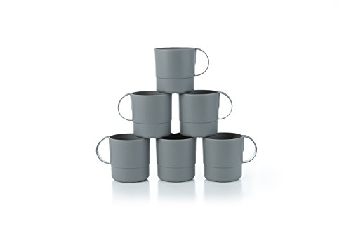 Amuse- Eco Friendly Sturdy Unbreakable & Stackable Mugs