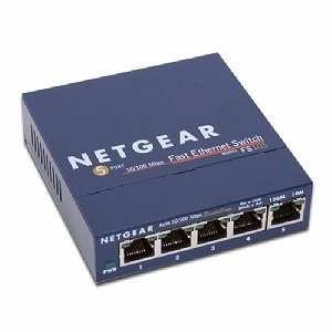 NETGEAR ProSafe FS105 10/100 Ethernet Desktop Switch