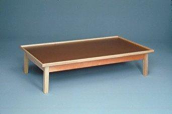 (Fabrication Enterprises 15-2031 Raised-Rim Platforms Mat Table, 3' x 7' Size, Small)