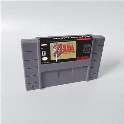 Game card - Game Cartridge 16 Bit SNES , Game The legend of Zelda Series Games A Link to the past - Battery Save US Version (Link And Zelda A Link To The Past)