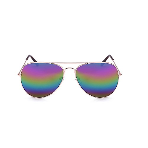 Lunettes Box de Hommes Classiques Box Sunglasses Gray Bright Black Couleur Soleil Silver Générique Film Gold Soleil conducteur Film Fashion Lentilles pour Lunettes de Trend de Bq5wWp