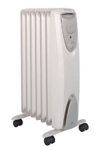 Dimplex OFRC15C Electric Oil Free Column Heater, 1.5 Kilowatt 023803 Heating Solutions Portable Heaters Home_Environment