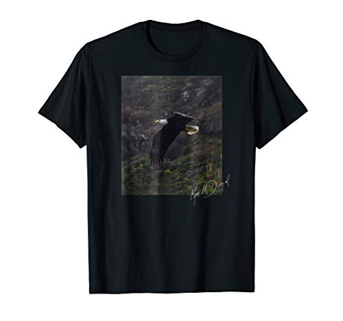 Eagle in Flight: Limited Edition Photo T-Shirt