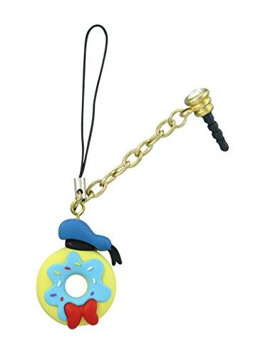 Disney Donald Duck Donut D-Lish Treats Phone Charm Disney Donald Duck Charm
