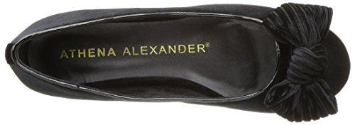 Black Women's Alexander Velvet Flat Athena Lucille Ballet wBgv1Uq