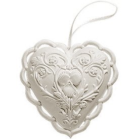 """Margaret Furlong 1997 From the Heart Ornament 2.5"""""""