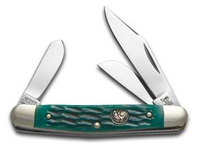 Hen & Rooster HR333GPB-BRK Stockman Green Pick Bone, One ()