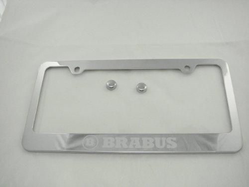 mercedes-benz-brabus-chrome-license-plate-frame-w-caps