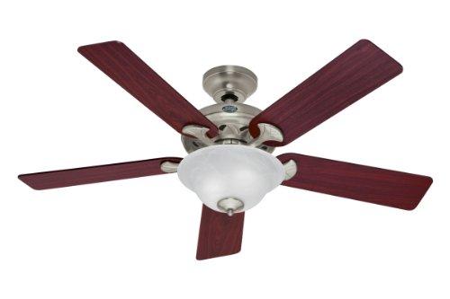 "Hunter 53109 Brookline 52"" Ceiling Fan Brushed nickel"