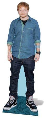 Ed Sheeran 171cm Lifesize Cardboard Cutout Star Cutouts Ltd