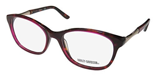 Harley Davidson Prescription Eyeglasses - 0533 054 - Red Havana (52/17/135)