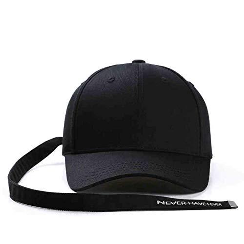 SLH フォーシーズンロングリボン野球帽メンズ通気性サンシャインハットファッションキャップ