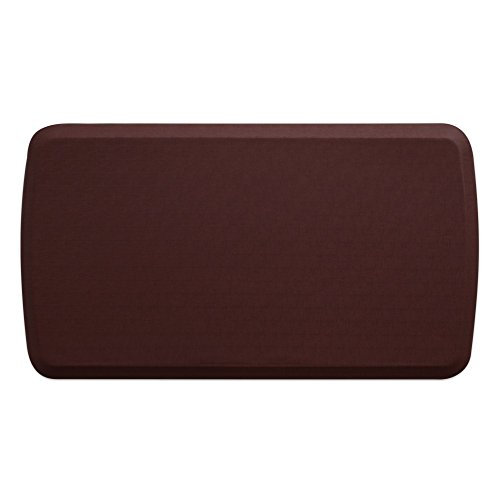 "GelPro Elite Premier Anti-Fatigue Kitchen Comfort Floor Mat, 20x36"", Linen Cardinal Stain Resistant Surface with therapeutic gel and energy-return foam for health & wellness by GelPro"