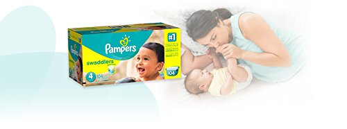 Large Product Image of Pampers Swaddlers Disposable Diapers Size 4, 104 Count, GIANT (Packaging May Vary)