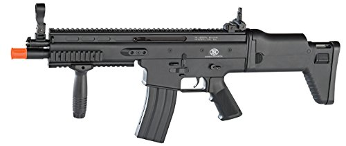Soft Air FN (200706) SCAR-L Airsoft Gun, Black (Gas Powered Sniper Rifle Airsoft)