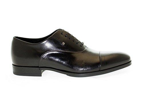 Fabi Homme 6350BLACK Noir Cuir Chaussures