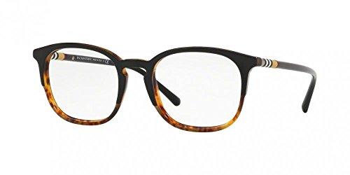 Burberry Men's BE2272 Eyeglasses Top Black On Havana 51mm