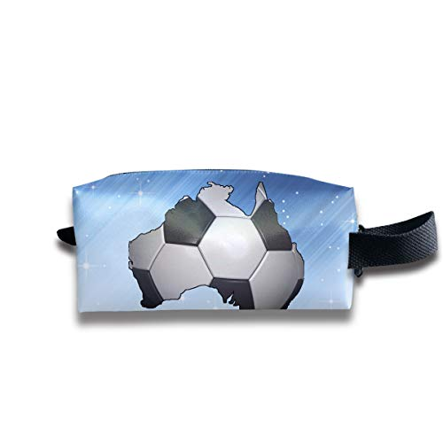 Toiletry Bag Football Soccer In Australia Shaving Cosmetic Makeup Storage Travel Sundry Sewing Organizer Portable With Handle -
