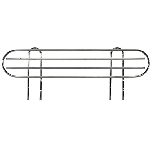 AKRO-MILS AWLEDGE18 - Ledge for 18-Inch Chrome Wire Shelf System - Pack of 4 by Akro-Mils
