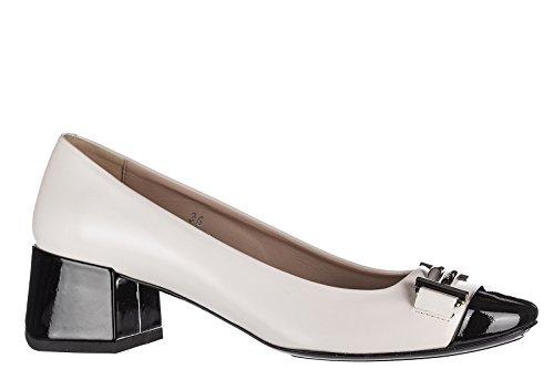 Tods Zapatos de Salón Escotes Mujer EN Piel Nuevo t45 doppia t Beige