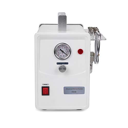 Professional Diamond Microdermabrasion Dermabrasion Machine Facial Care Device Equipment (Suction Power: 0-68cmHg) by TopDirect (Image #1)