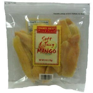 Trader Joe's Dried Fruit Soft & Juicy Mango by N/A [Foods]