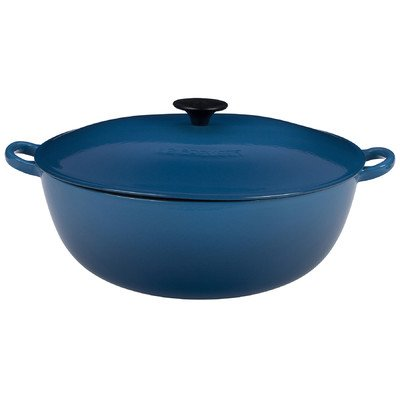 Le Creuset Enameled Cast-Iron 7-1/2-Quart Bouillabaisse Pot, Marseille