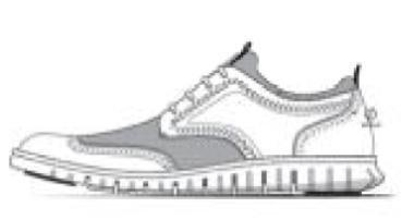 Cole Haan Men's Zerogrand Short Wing Bootie Oxford, Black Leather/Neoprene/Optic White, 13 M US