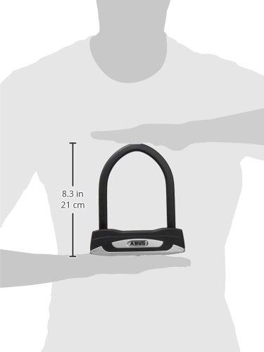 Abus Granit XPlus 54 Mini, U-Lock, Key, 108x150mm, 4.3''x5.9'', Thickness in mm: 13mm, Black