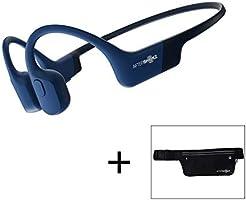 AfterShokz Aeropex öppen öron trådlös vattentät benledning sport löpning hörlurar