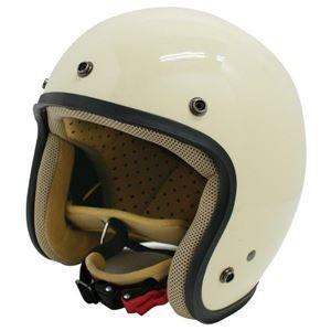 ダムトラックス(DAMMTRAX) ジェットヘルメット ジェット-D パールアイボリー レディース (57cm~58cm) [簡易パッケージ品]   B07822Q9BM
