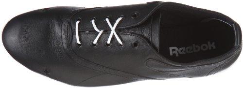 Reebok white schwarz Nero black Sneaker brogue Donna Brylie TnqwFaxT4