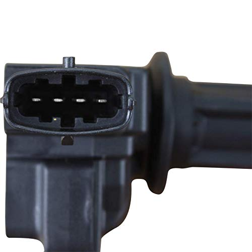 AIP Electronics Premium Ignition Coil on Plug COP Pencil Pack Compatible Replacement For 2003-2011 Saab 9-3 2.0L L4 Oem Fit C526