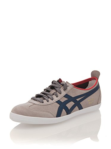 Asics Men's Trainers Multi-coloured Hellgrau - Blau