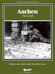Aachen: First to Fall by Decision Games
