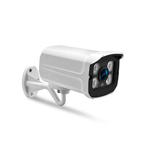 - Move Cc Metal Wateroof Outdoor Bullet IP Camera 720P 960P 1080P Security Camera 4Pcs Array Led Onvif P2P Detection IP Cam,720P with Adapter,EU Plug