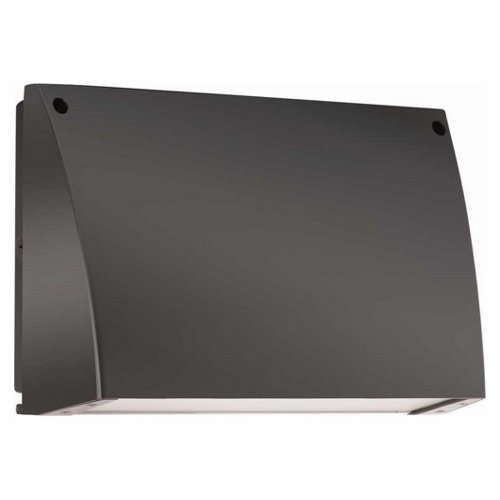 RAB Lighting SLIM12N SLIM LED Wallpack, 1372 lm, 12W, 4000 K (Neutral) Color, Bronze Finish by RAB Lighting