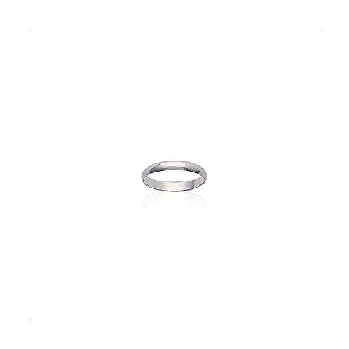 MARY JANE - Bague Argent Femme/Homme - Largeur 3mm - Argent 925/000 (Alliance / Anneau) - GRAVURE OFFERTE - ECRIN OFFERT