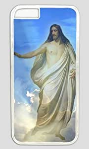 Jesus Christ The Son Of God Customized Hard Shell Transparent iphone 6 plus Case On Custom Service