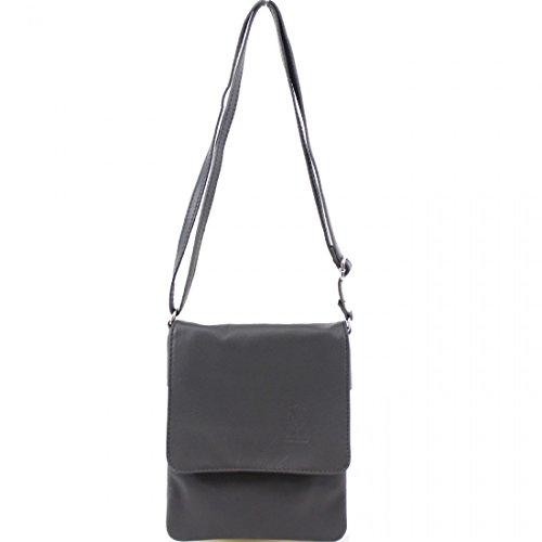 Pele Dark Leather Grey Small Bags Girls Shoulder Body Linen Ladies Vera Galaxy Soft Women Bags Italian Cross nqZEIT