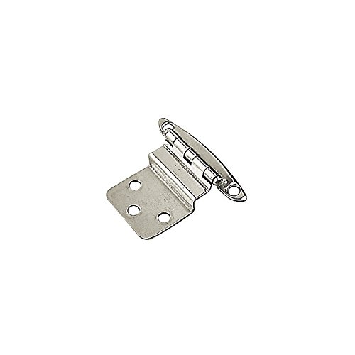 Stainless Steel Semi-Concealed Hinge Pair (2) Sea-Dog Line 201914 (Brass Offset Nut)