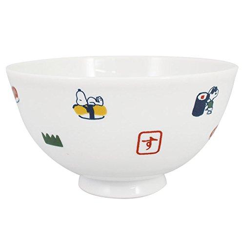 Lucys Bowl (Ohnishi Ken Manufacturing PEANUTS Snoopy Wa Series Sushi Series Rice Bowl 320ml PZ-1010)