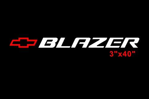 Trail Blazer Decal Window Sticker Chevy SS Windshield ()