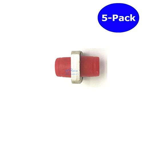 SNS Fiber Optic FC To FC/UPC Simplex Single Mode Adapter 5-Pack